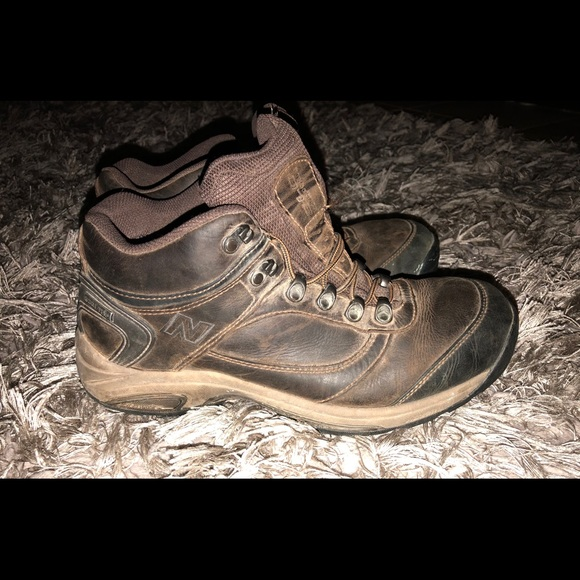 New Balance Leather Gore Tex Hiking Boots Shoes